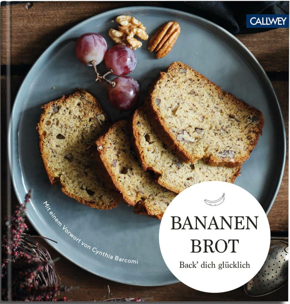 Kirsch-Bananenbrot aus dem Backbuch Bananenbrot // HIMBEER