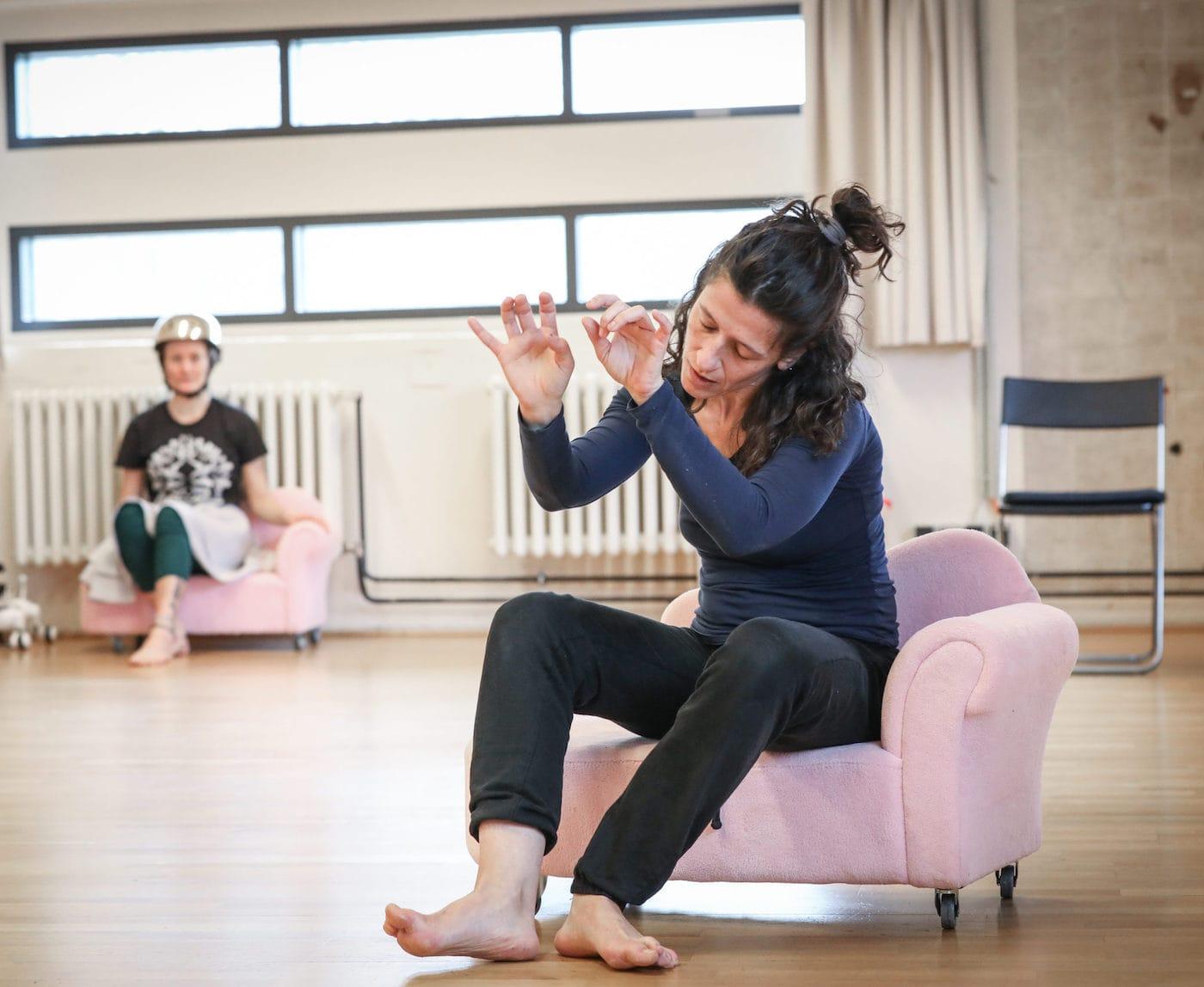 Tanztheater für Kinder im Theater o.N. // HIMBEER