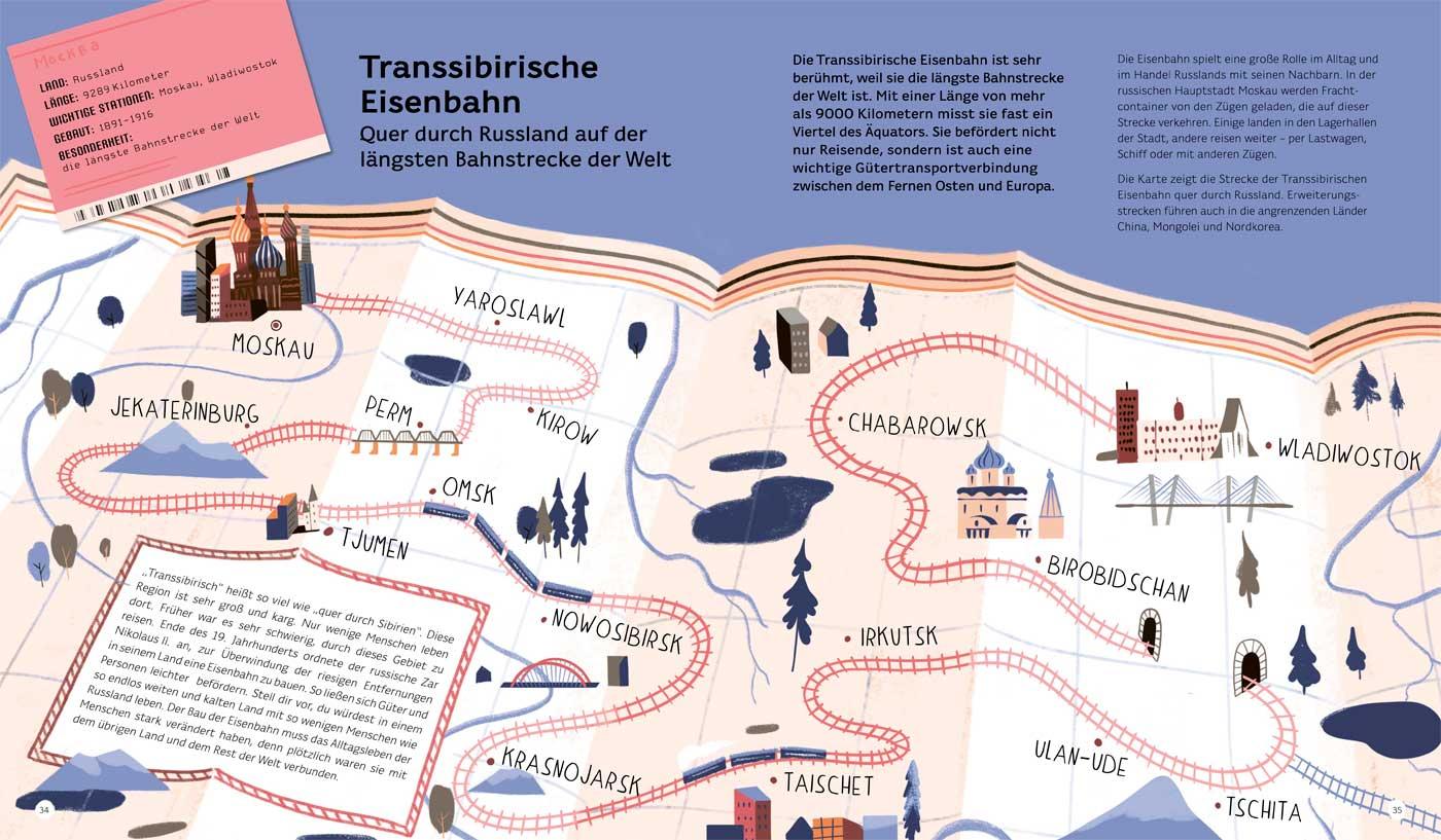 Kinderbuchtipps im Oktober 2020: Reisen mit der Eisenbahn // HIMBEER