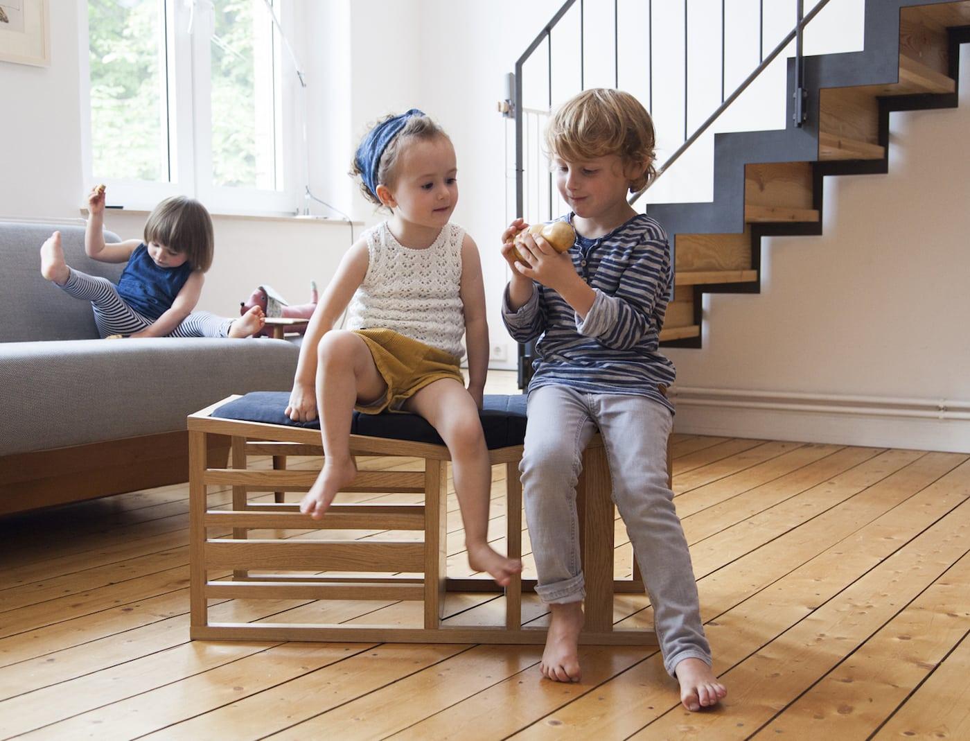 Zaunkönig-Hochstuhl für Kinder // HIMBEER