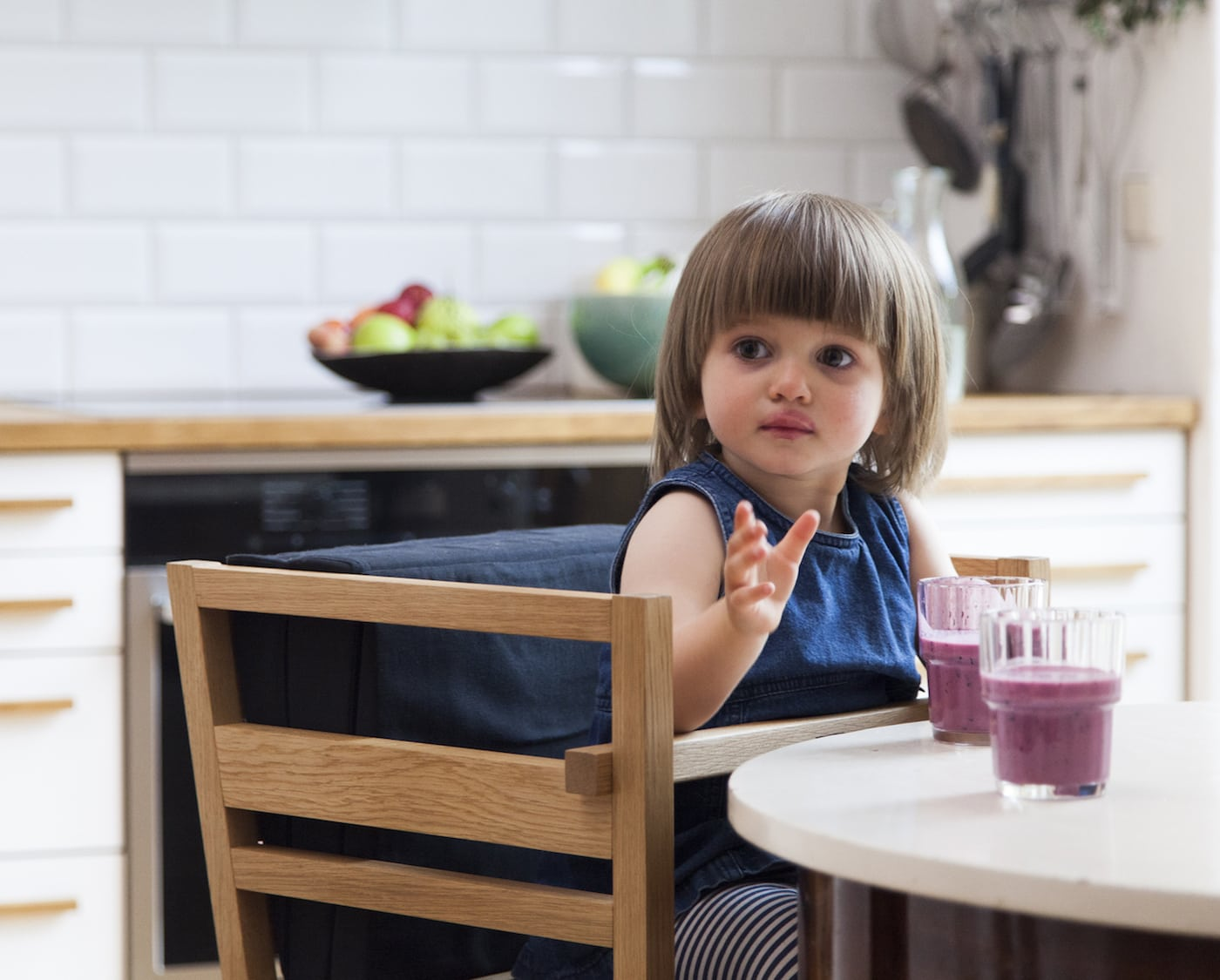 Hochstuhl für Kinder // HIMBEER