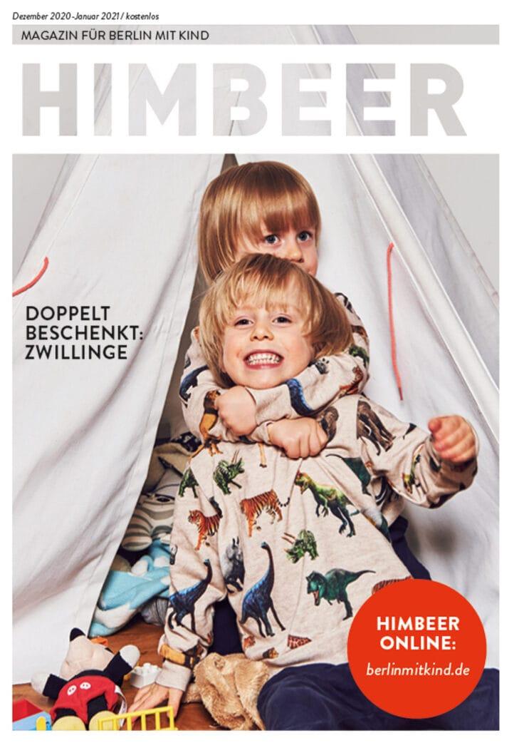 Die Ausgabe zum Jahreswechsel: HIMBEER Magazin Dezember 2020-Januar 2021 // HIMBEER