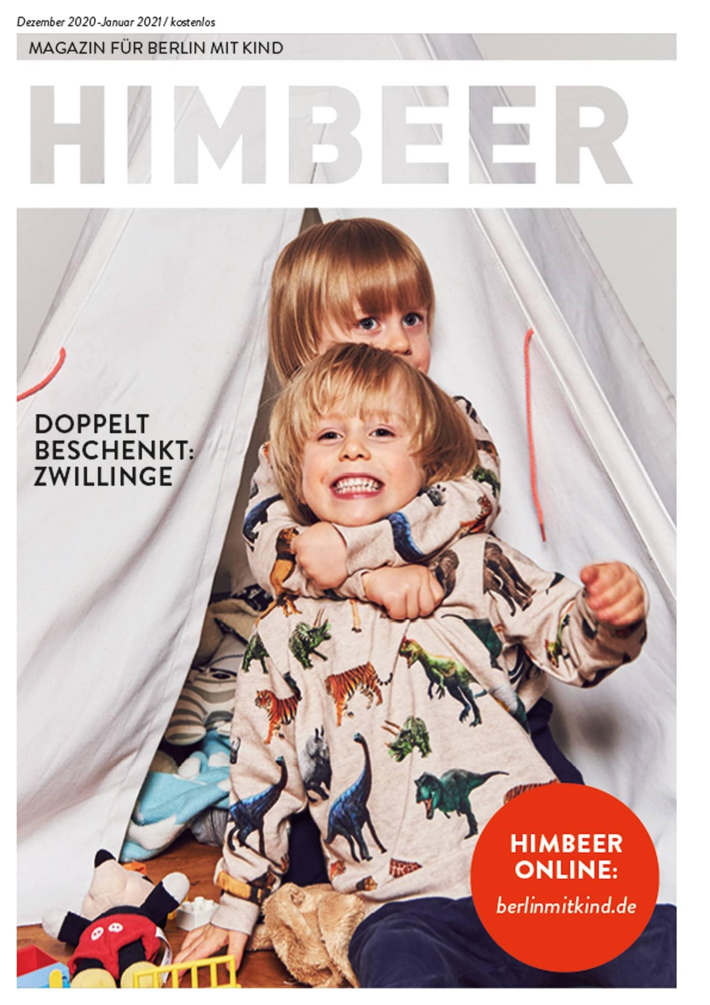 HIMBEER Magazin Dezember 2020-Januar 2021 // HIMBEER