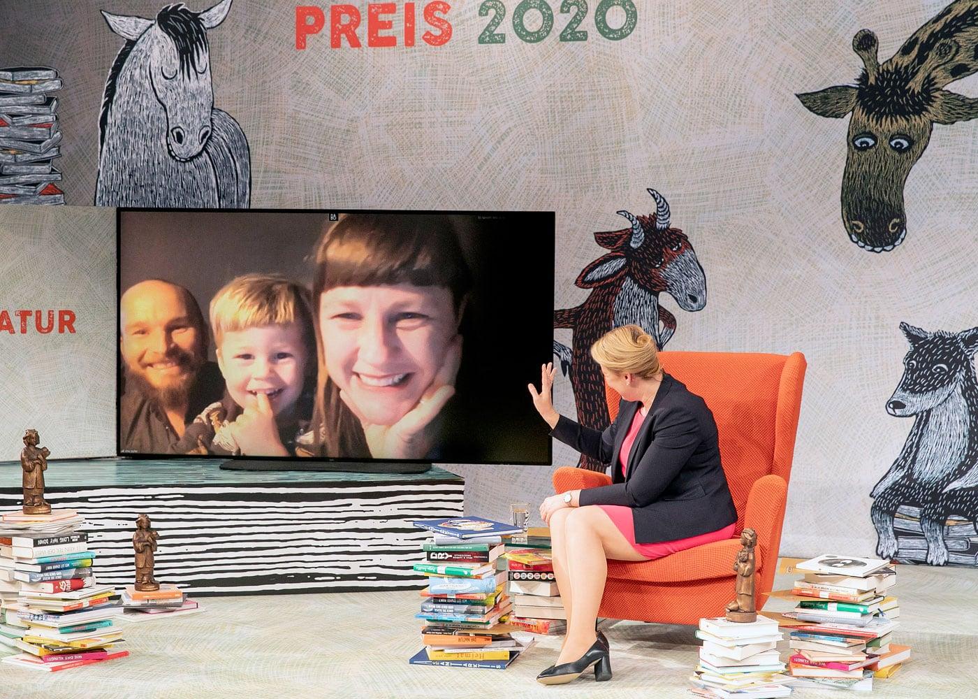 Deutscher Jugendliteraturpreis 2020: Dita Zipfel // HIMBEER