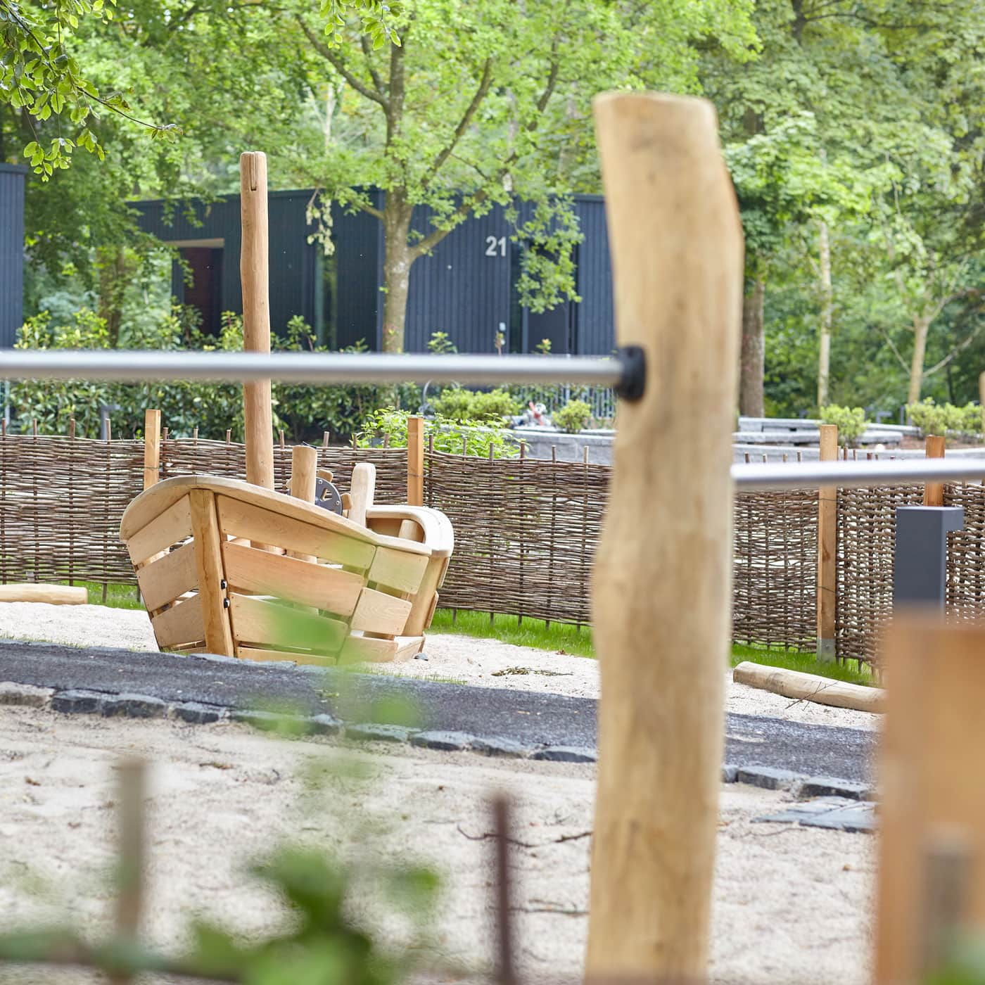 Spielplatz bei den Ostseelodges // HIMBEER