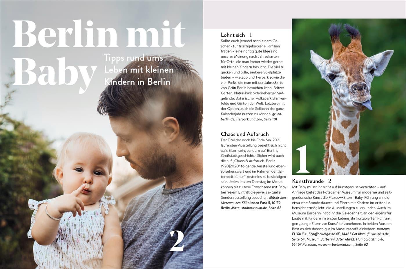 Das HIMBEER Buch: BERLIN MIT KIND 2021 // HIMBEER