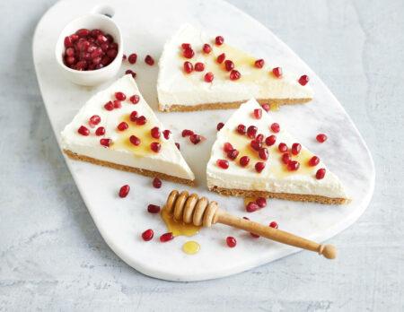 Griechischer Joghurt-Cheesecake // HIMBEER