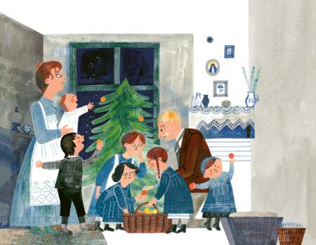 Weihnachtsbücher für die ganze Familie: Die schönste Zeit // HIMBEER