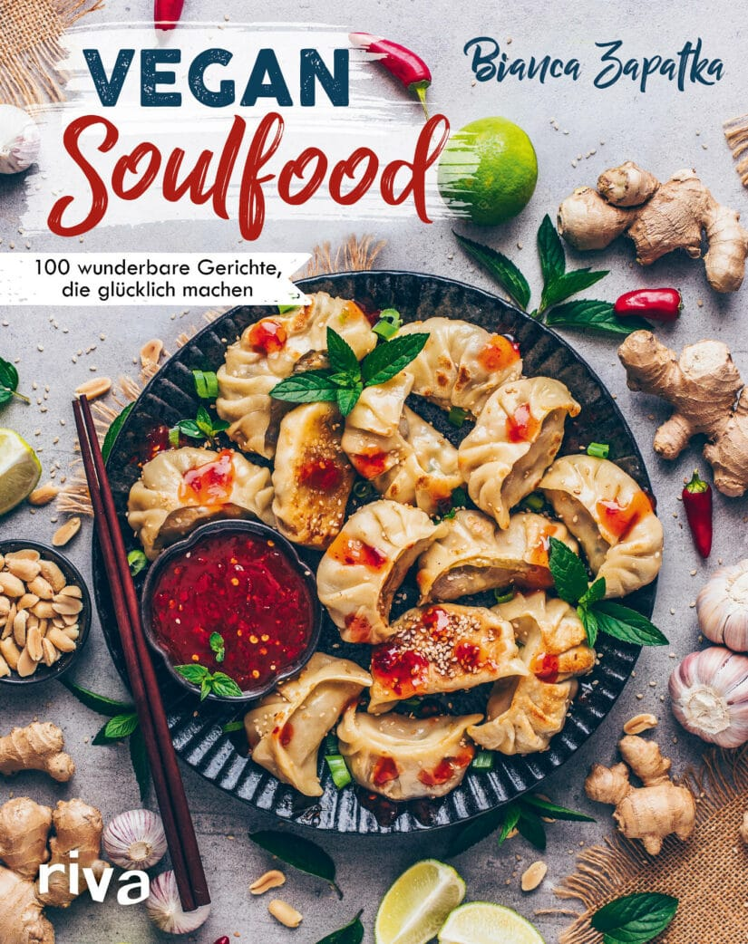 Vegane Kartoffel-Lauch-Suppe aus Vegan Soulfood // HIMBEER