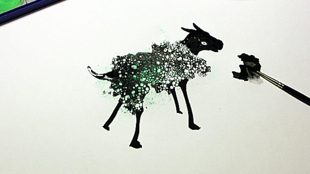 Kunst zum MItmachen: Kunstprojekte für Kinder im Atrium Berlin // HIMBEER