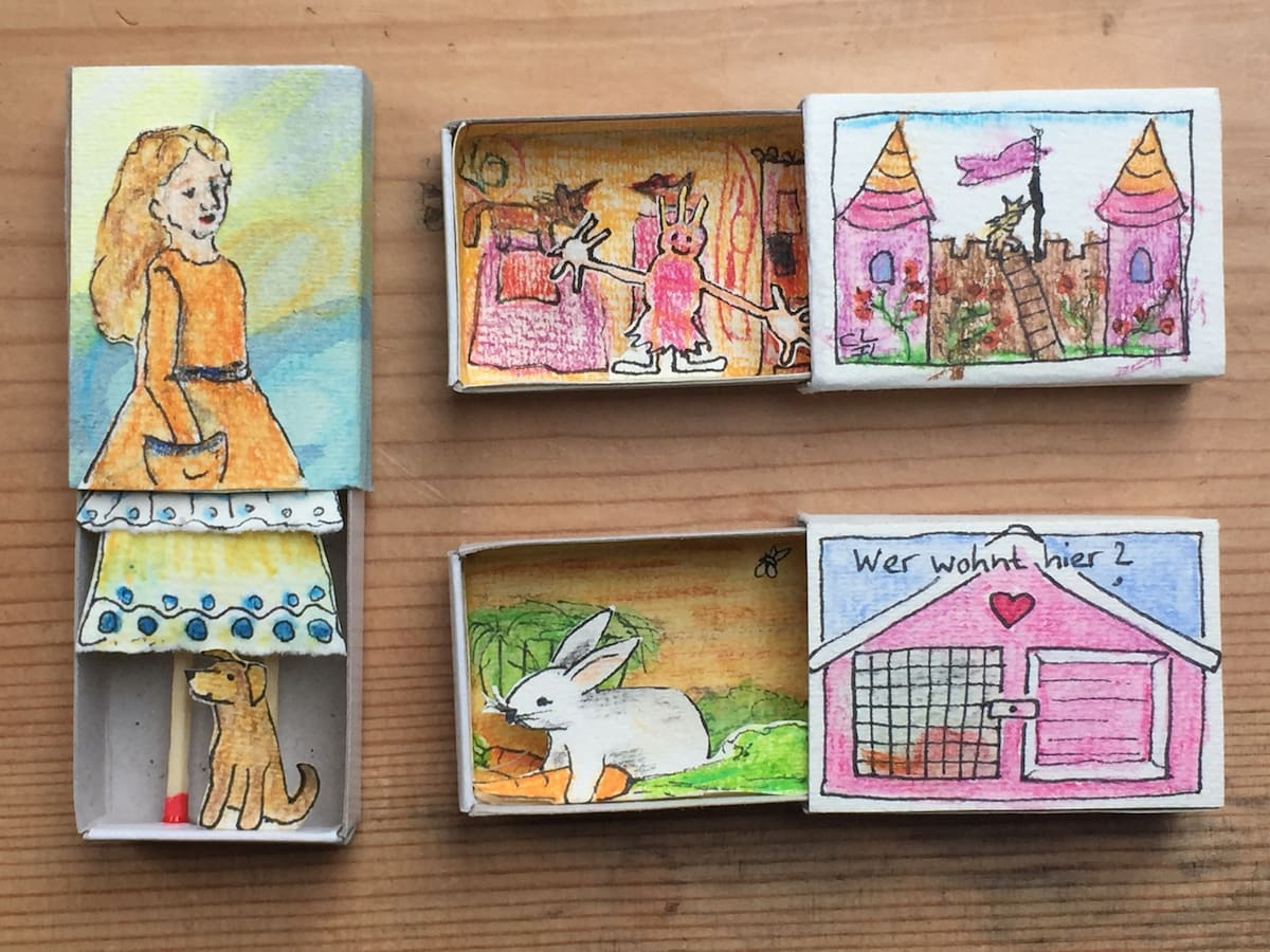 Kunst zum MItmachen für Kinder: Digitaler Kunstkurs im Atrium Berlin // HIMBEER