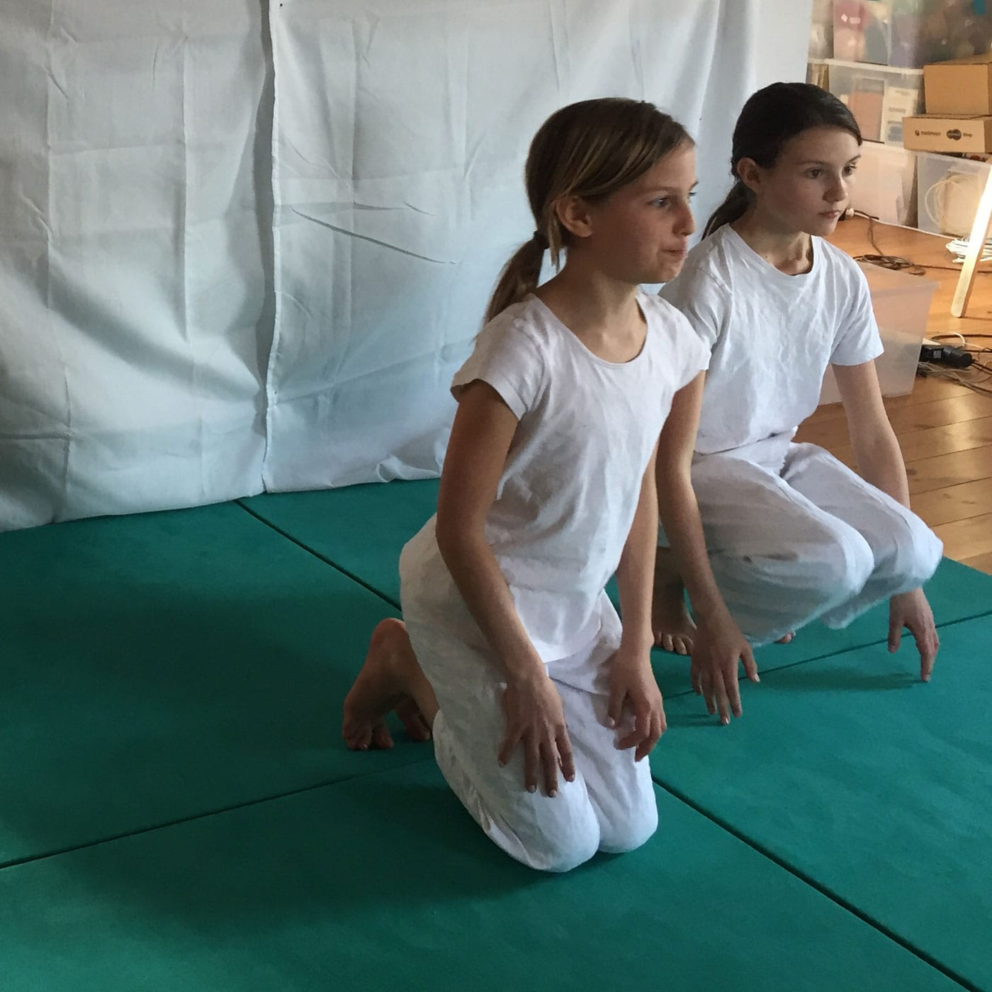 Kampfkunstschule kikentai mit Onlinekursen für Kinder // HIMBEER