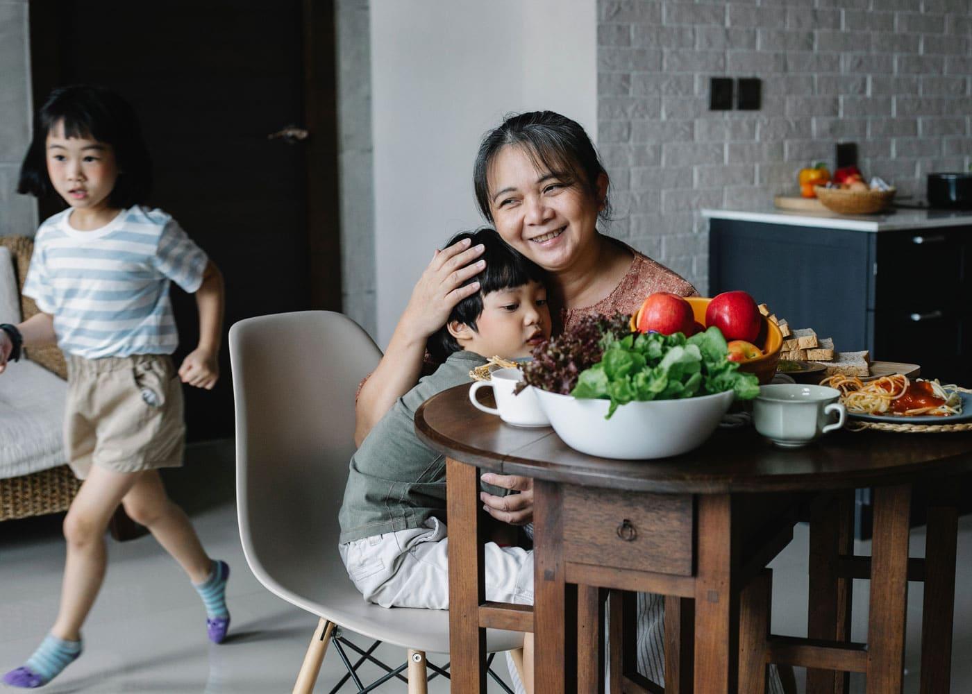 Wenn Kinder oder Teenager Vegetarier werden – Verständnis bei den Großeltern wecken // HIMBEER