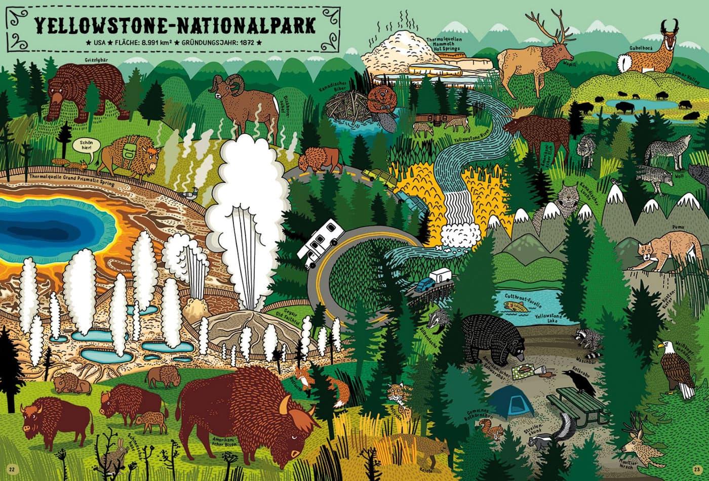 Kinderbuchtipps: Auf nach Yellowstone // HIMBEER