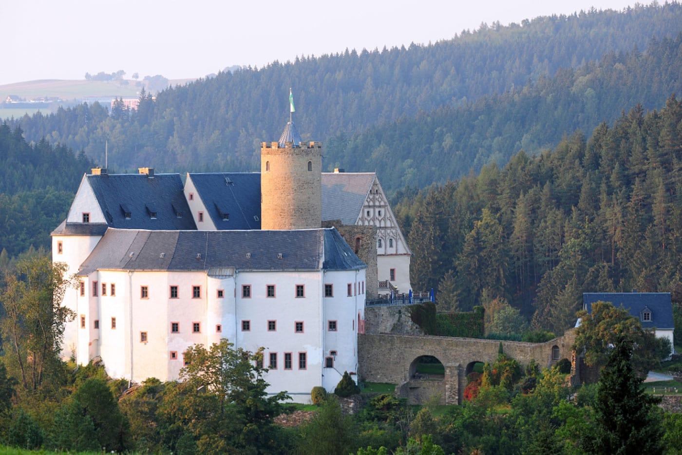 Burg Scharfenstein im Erzgebirge // HIMBEER