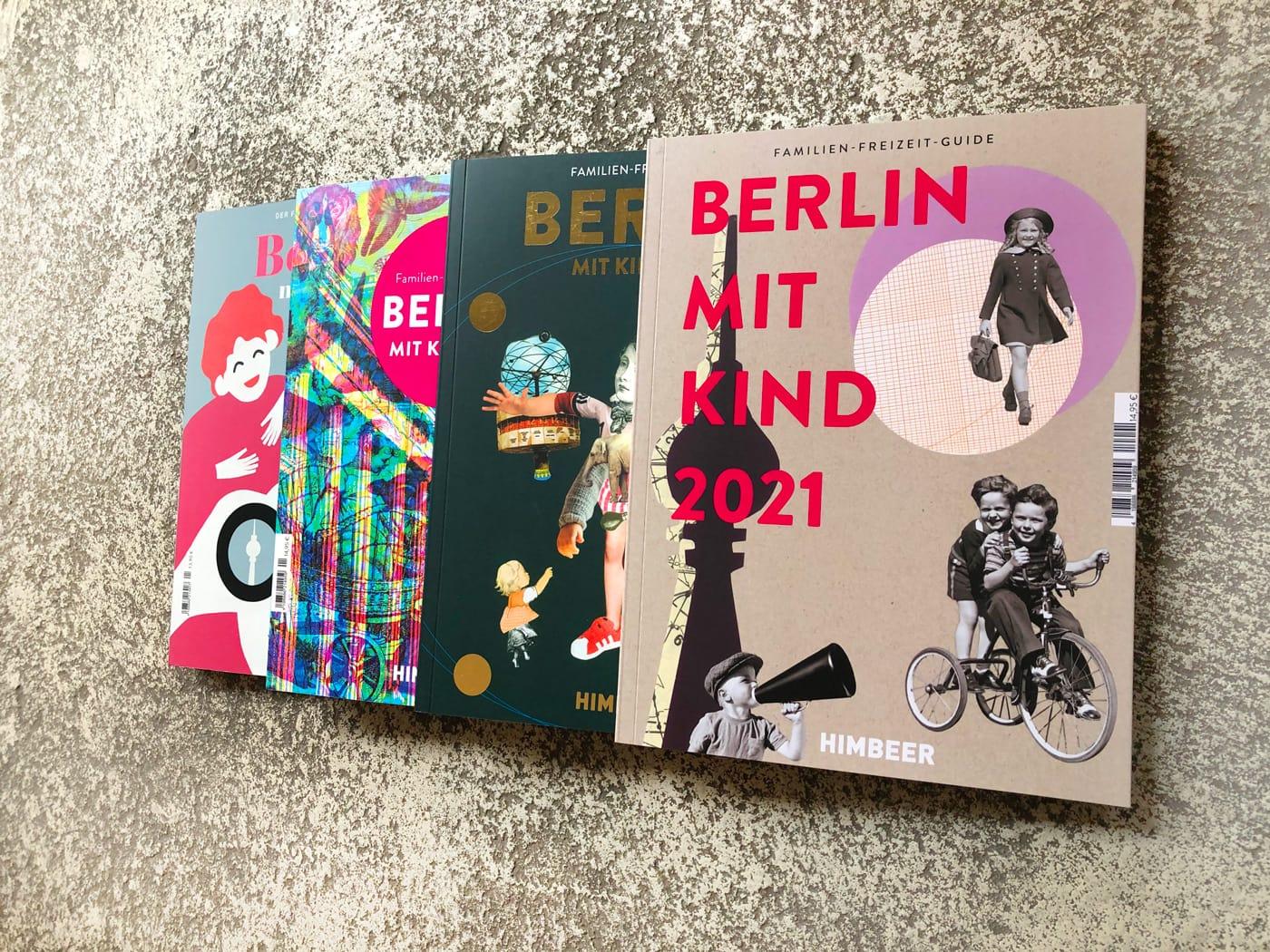 Die Familien-Freizeit-Guides aus dem HIMBEER Verlag // HIMBEER