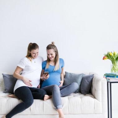 Online-Schwangerschaftskurse bei Keleya // HIMBEER