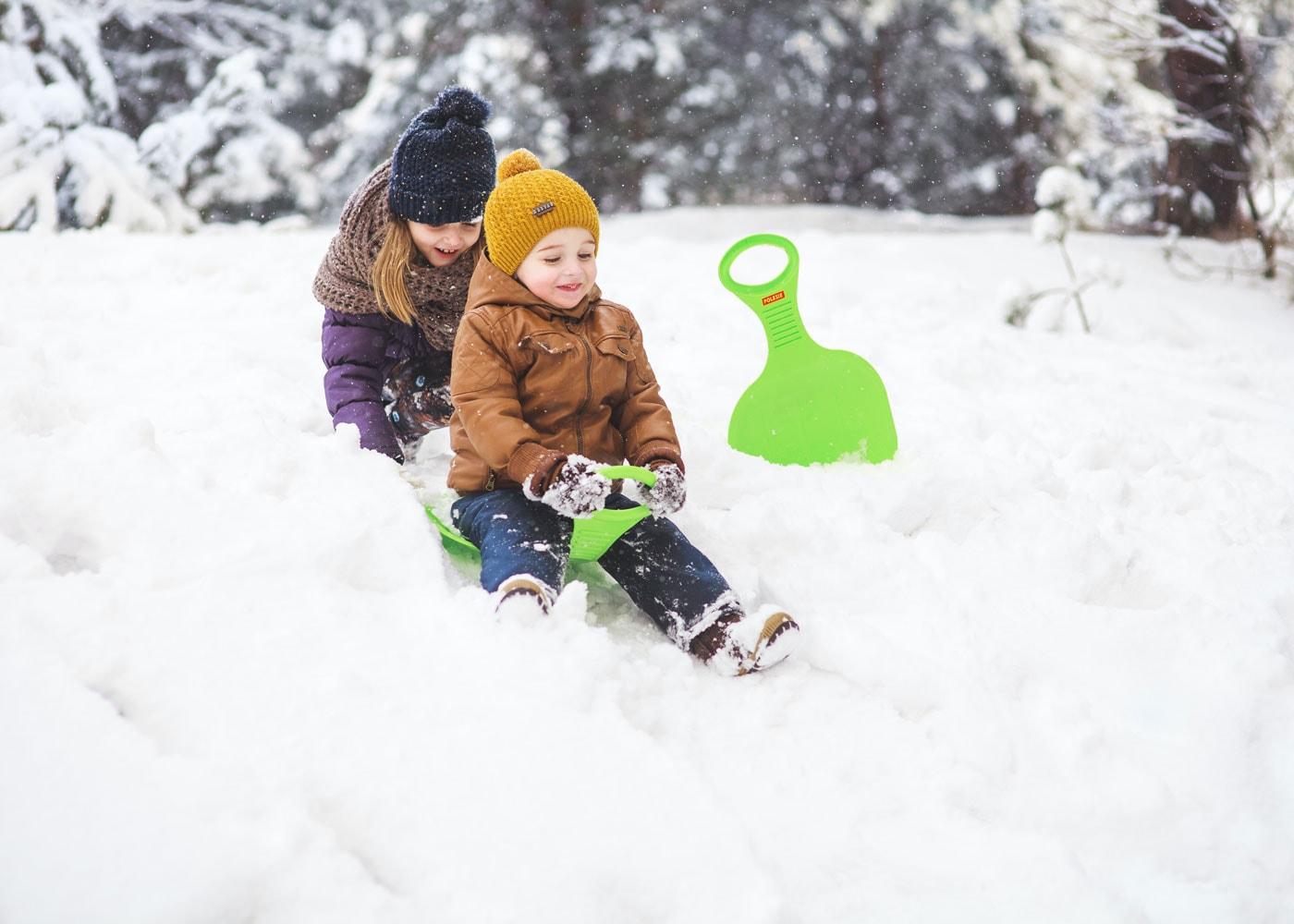 Schneeabenteuer mit Kindern // HIMBEER