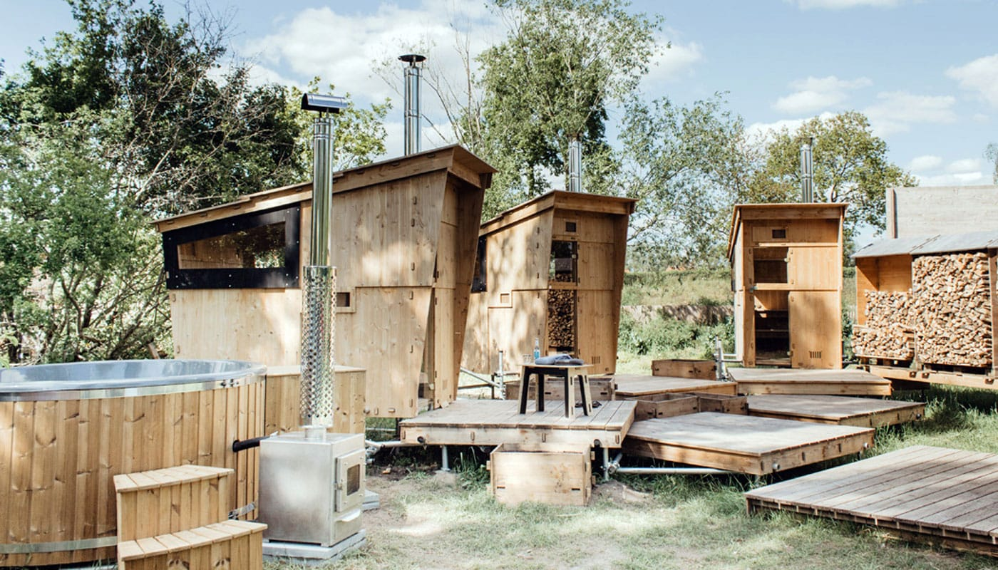 Glamping im Wendland mit Sauna // HIMBEER