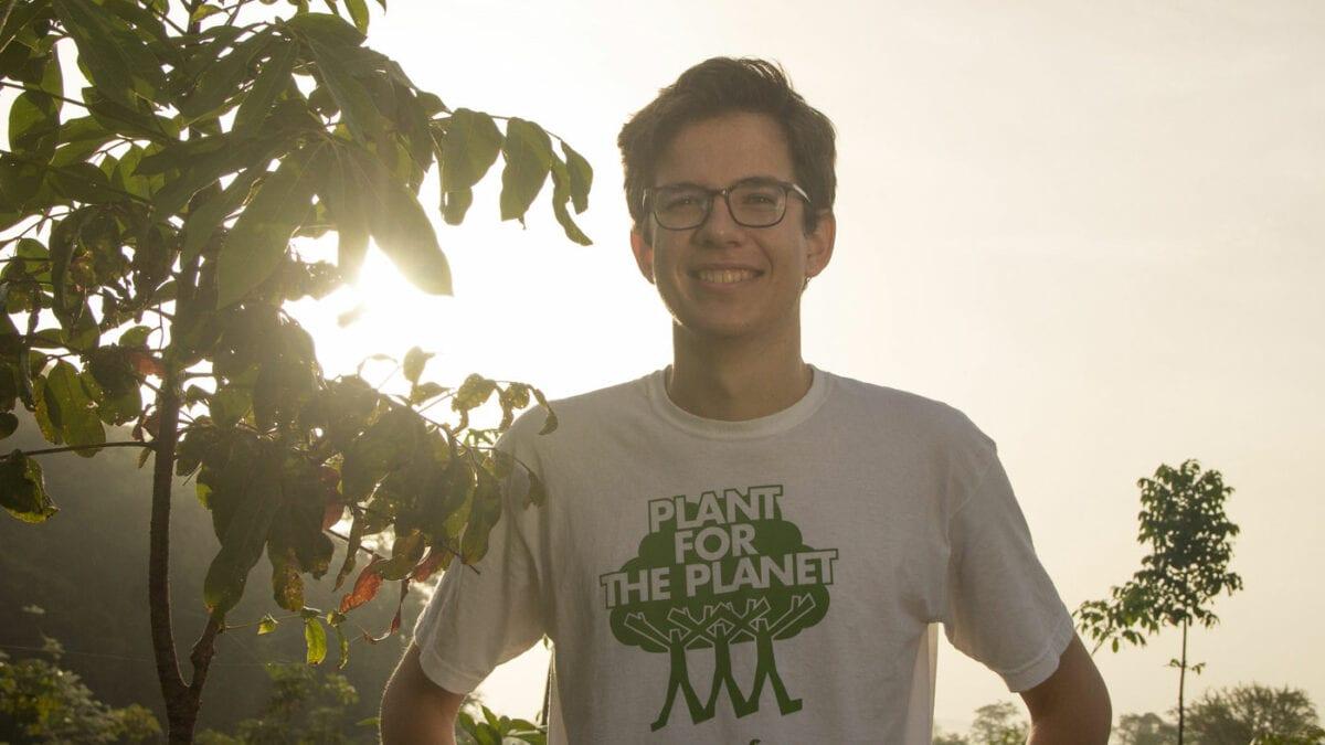 Plant-for-the-Planet-Gründer Felix Finkbeiner im Interview // HIMBEER