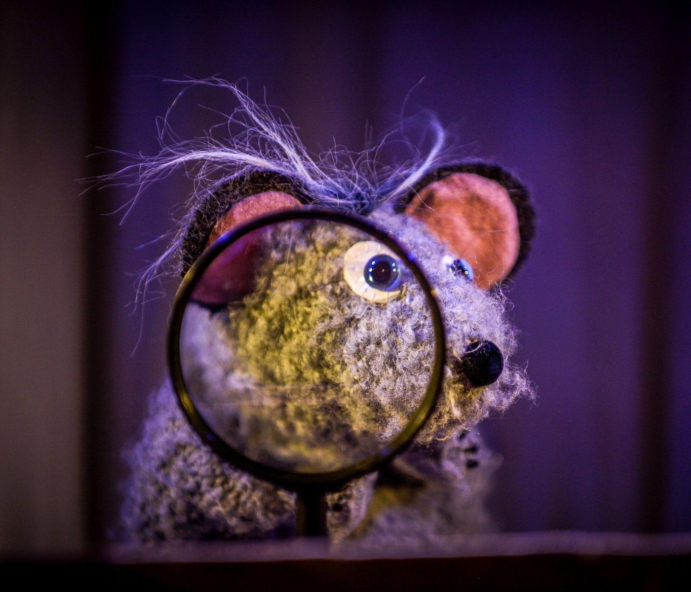 Kindertheater im Live-Stream: Wackelzahnkrimi // HIMBEER