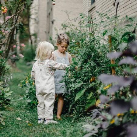 Ideen für Balkon und Garten mit Kindern // HIMBEER