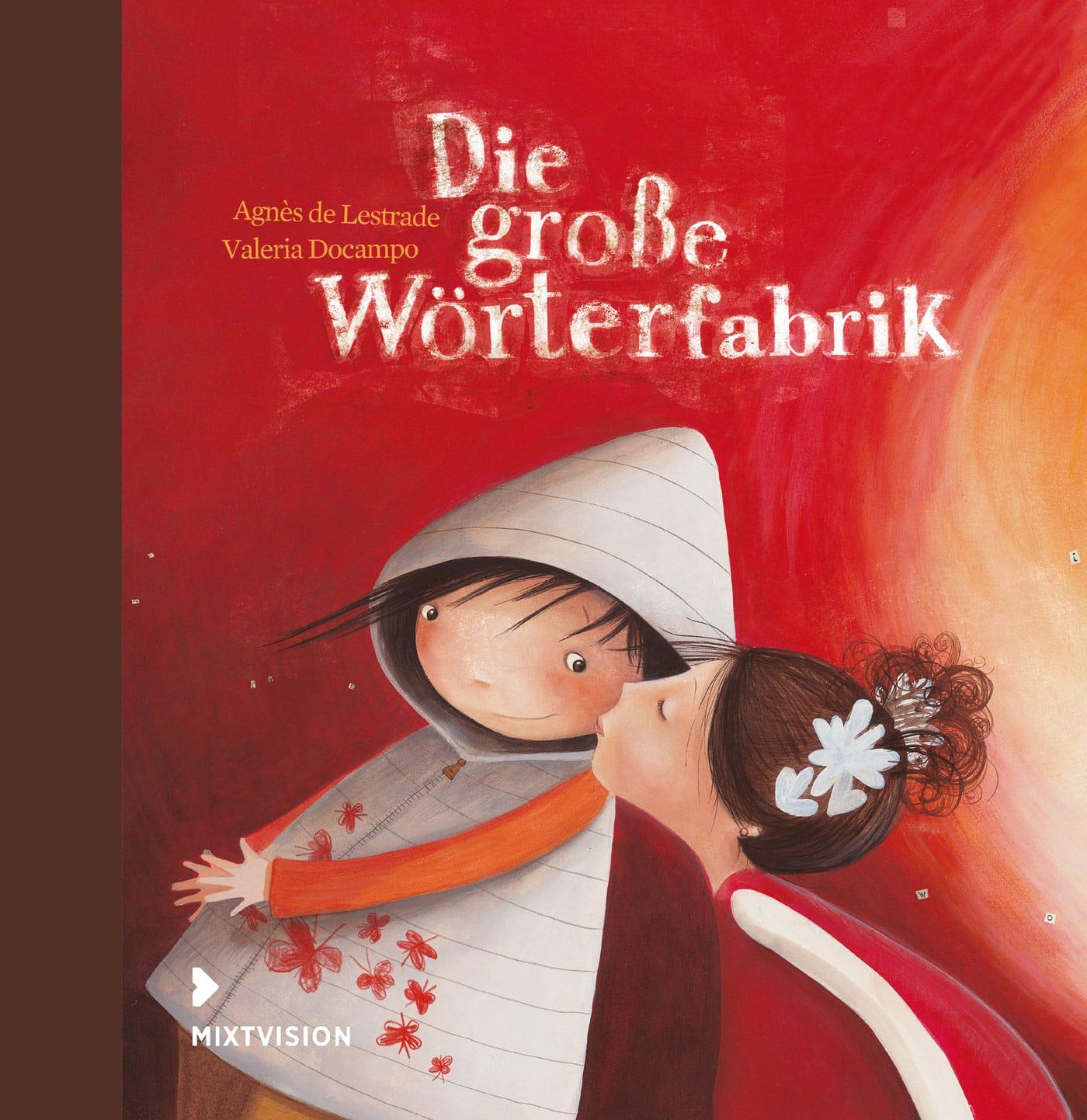 Bilderbuch-Tipp für Kinder ab drei Jahren: Die große Wörterfabrik // HIMBEER