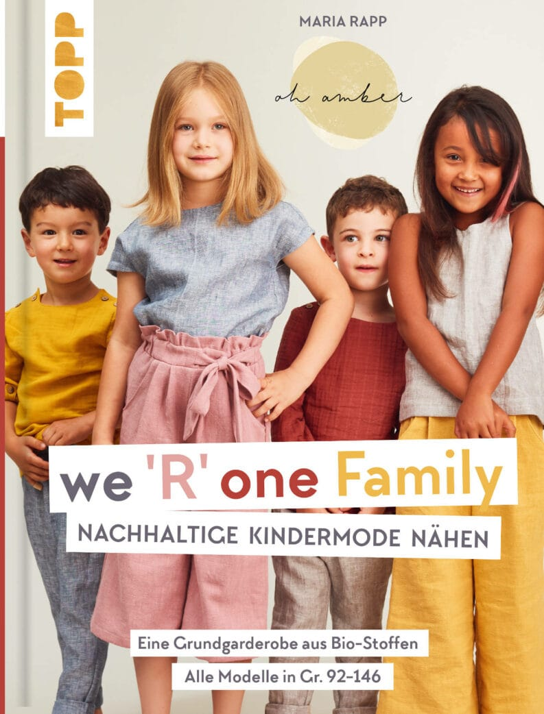 Luftiges Shirt aus we R one Family // HIMBEER