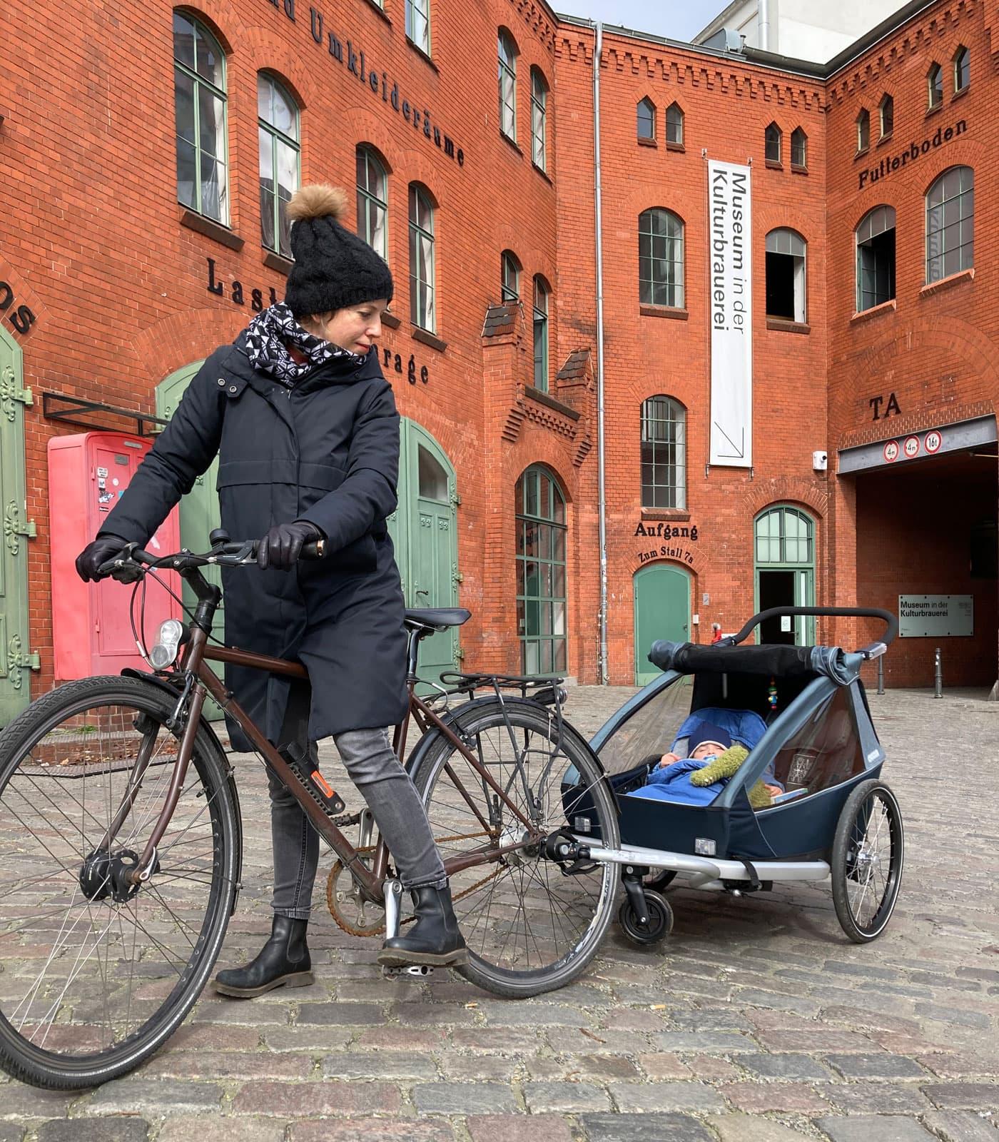 Kid Vaaya Fahrradanhänger im Praxistest // HIMBEER