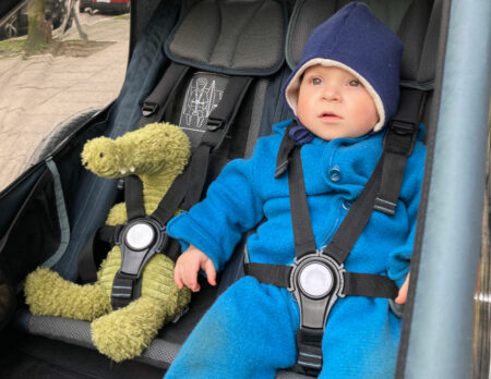 Fahrradanhänger für Kinder im Familientest: Kid Vaaya 2 von Croozer // HIMBEER