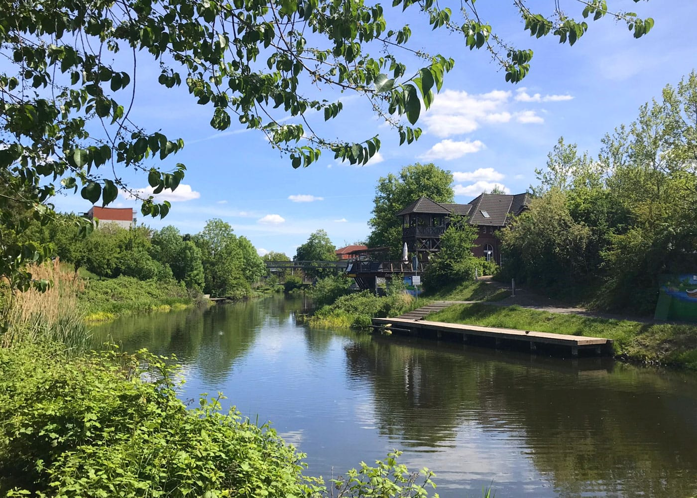 Familien-Ausflugstipp: Treidelweg bei Eberswalde // HIMBEER