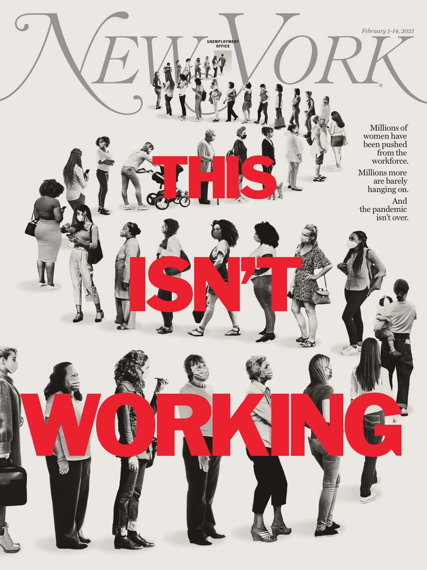 This isn't working Cover New York Magazine // HIMBEER
