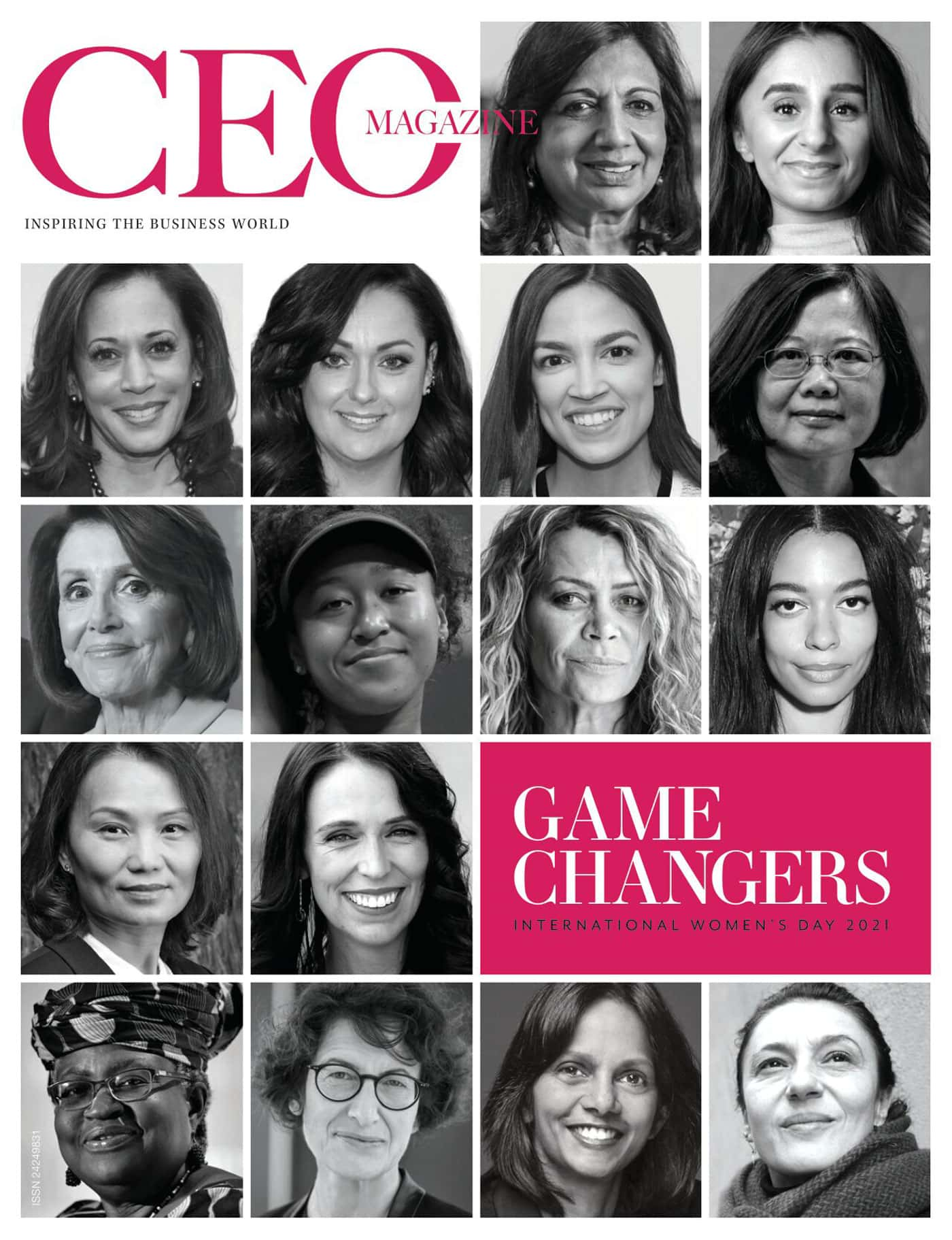 Female Game Changers auf dem Cover // HIMBEER