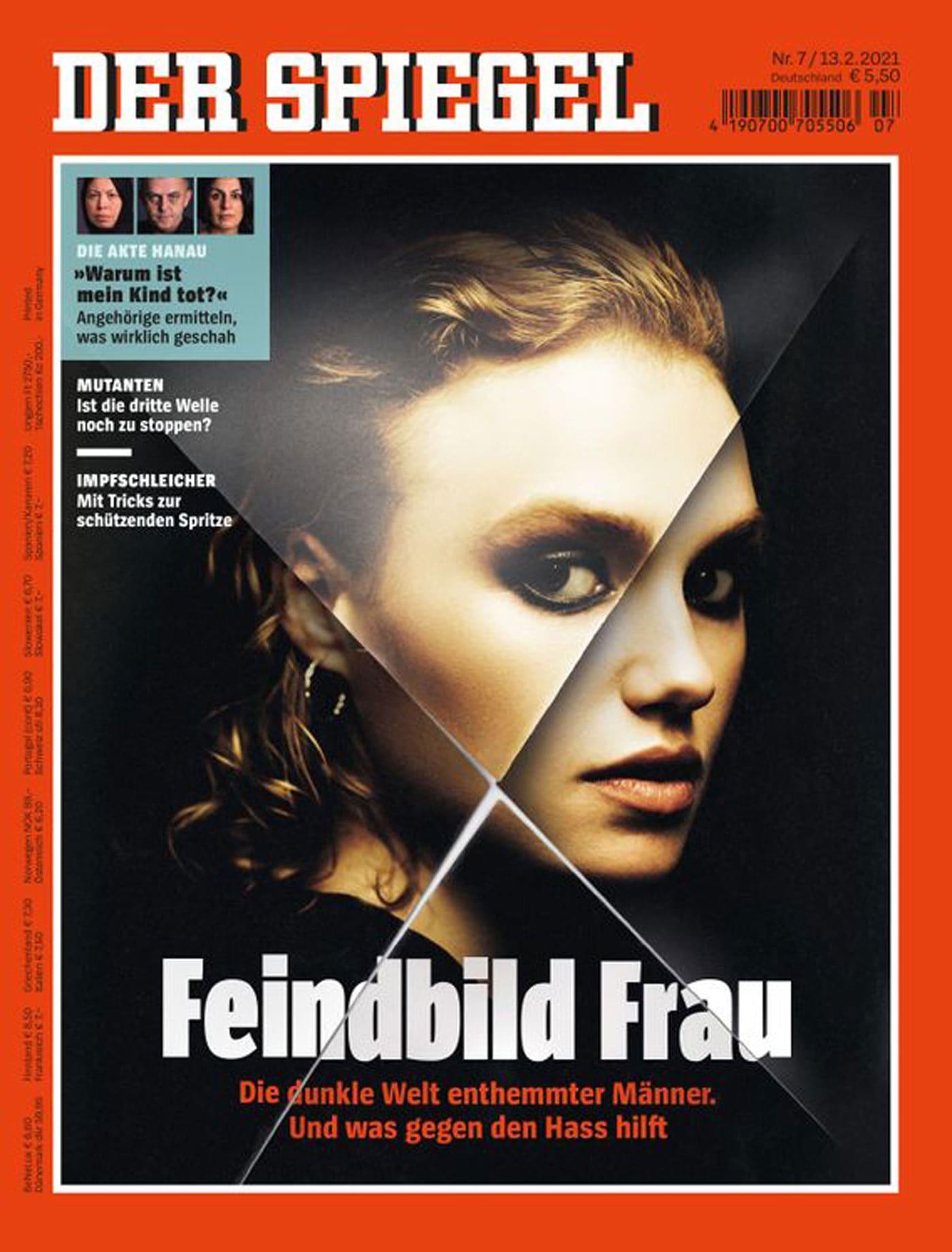"SPIEGEL Titel ""Feindbild Frau"" // HIMBEER"