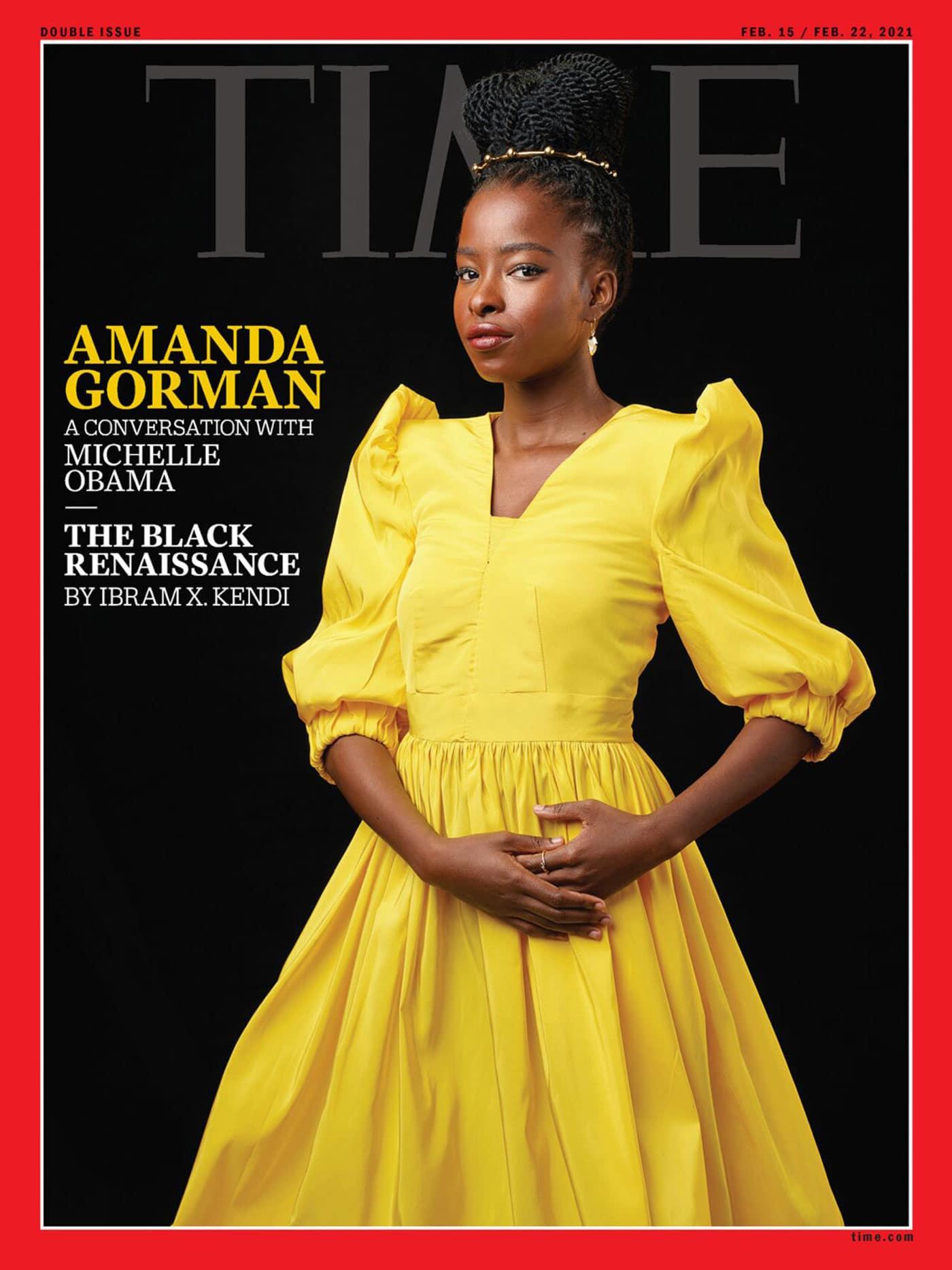 Time Magazin Titelseite 2021 // HIMBEER
