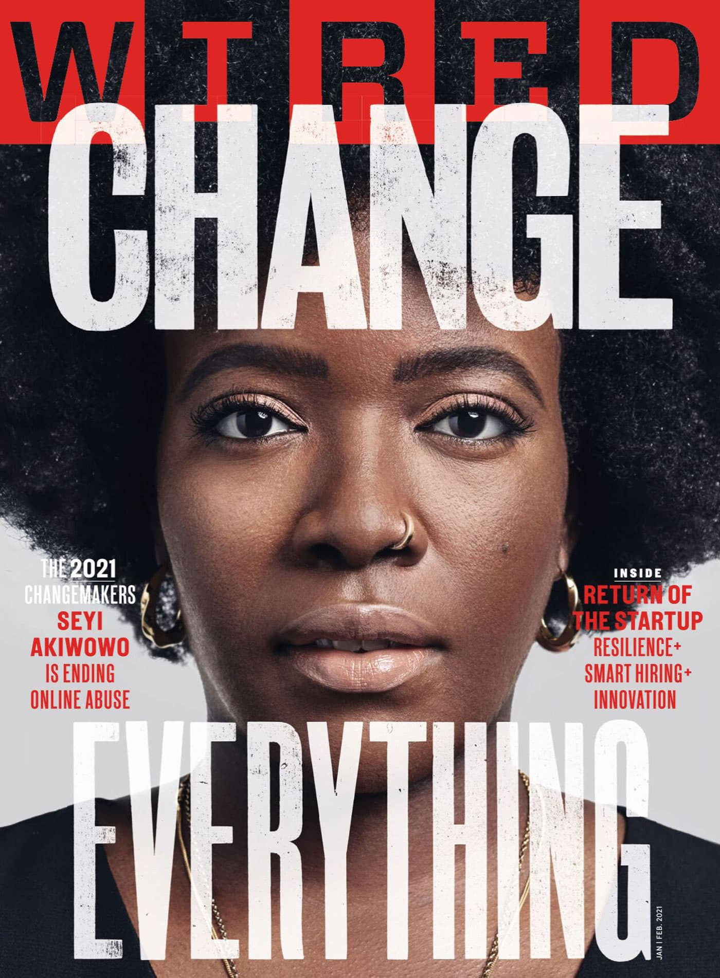 Female Empowerment Cover des Wired Magazins // HIMBEER