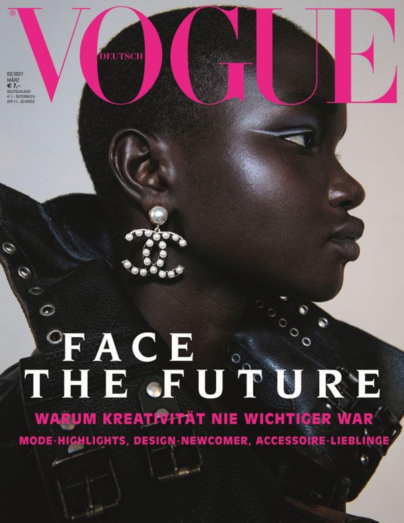 Female Empowerment Cover der deutschen VOGUE // HIMBEER