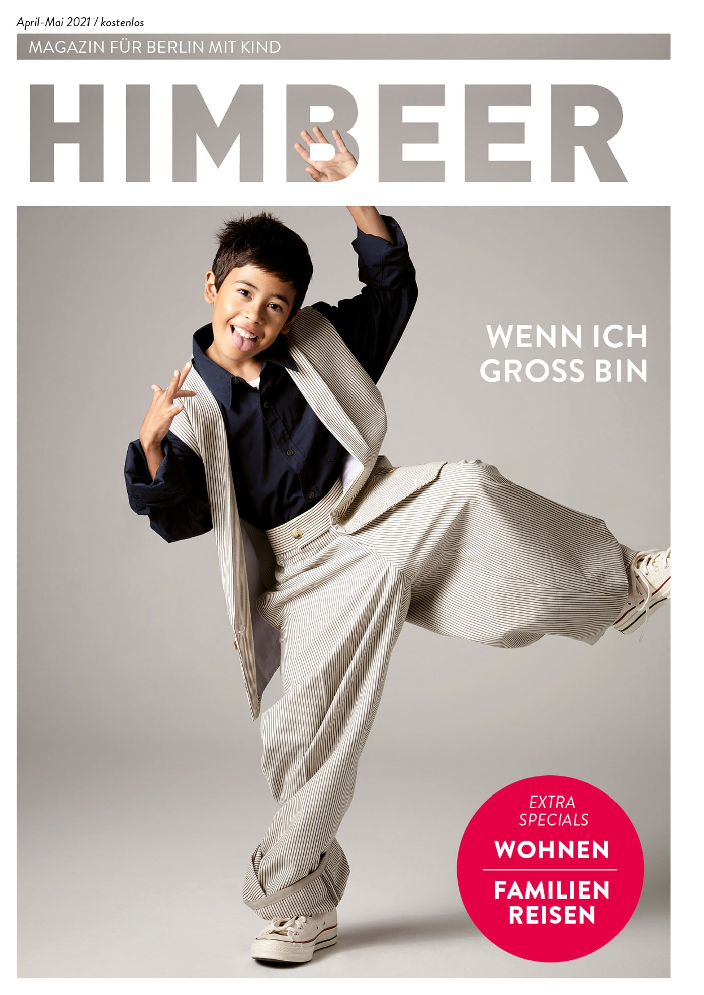 HIMBEER Magazin für Berlin mit Kind April-Mai 2021 // HIMBEER