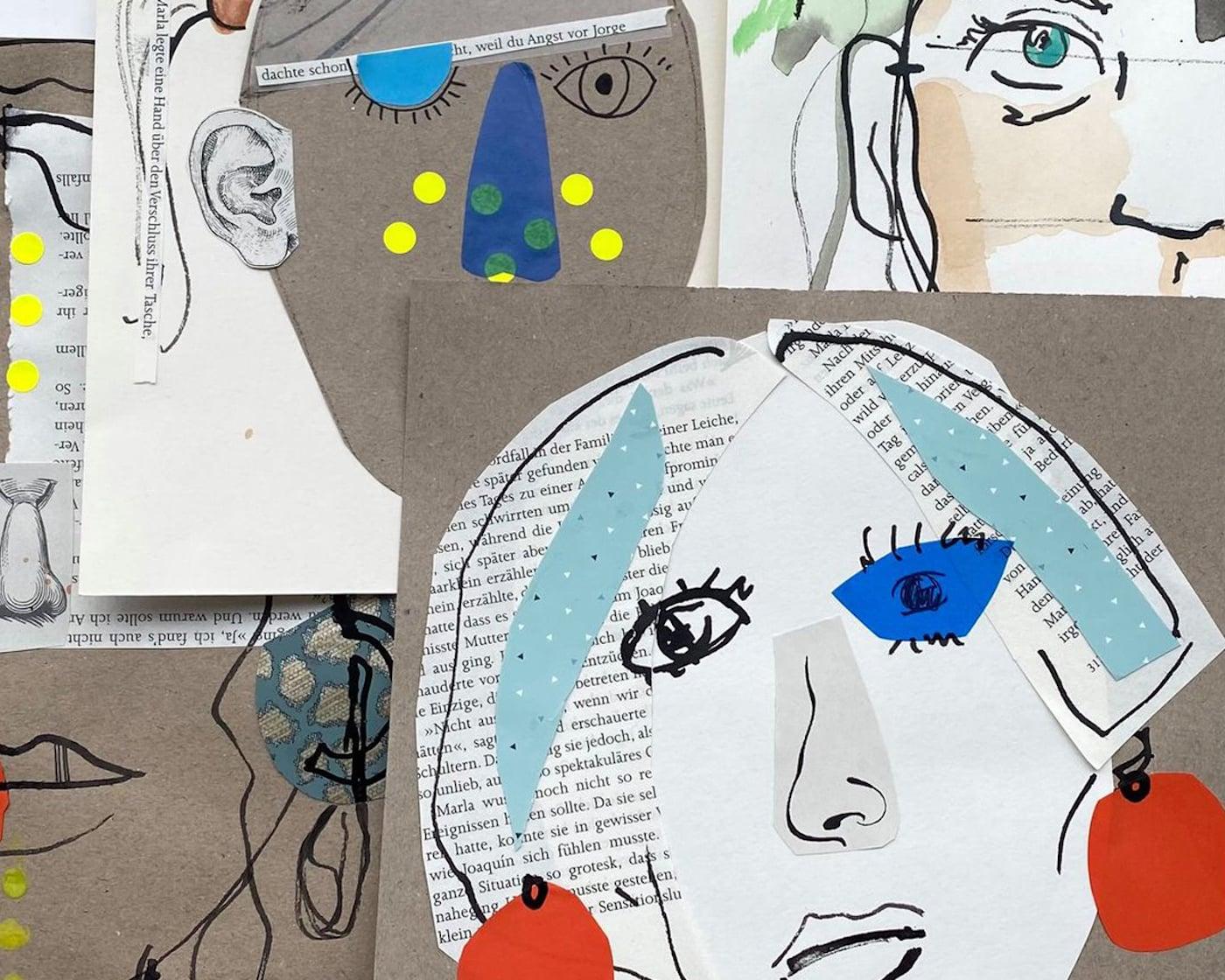 Kunstworkshops für Kinder im Kinderkunsthaus //HIMBEER