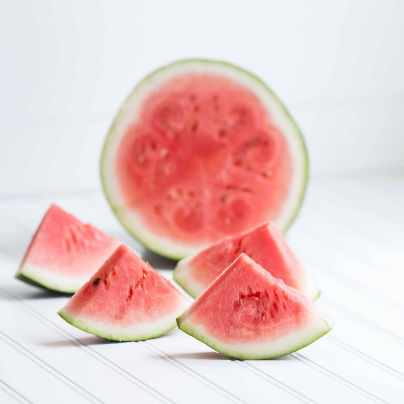 Wassermelone für das Kokoswassereis // HIMBEER