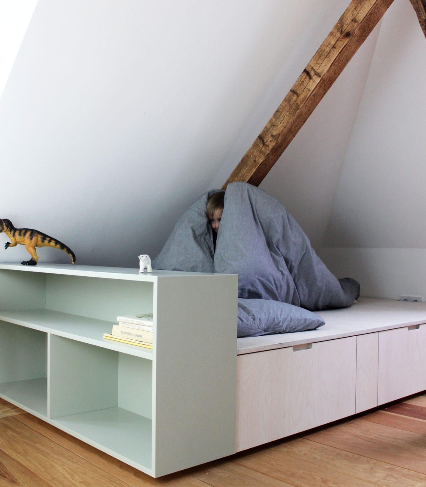 Betteinbauten für Kinder // HIMBEER