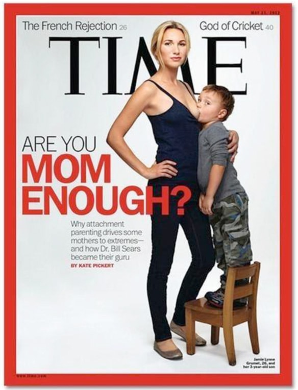 Time Magazine Cover 2012 // HIMBEER