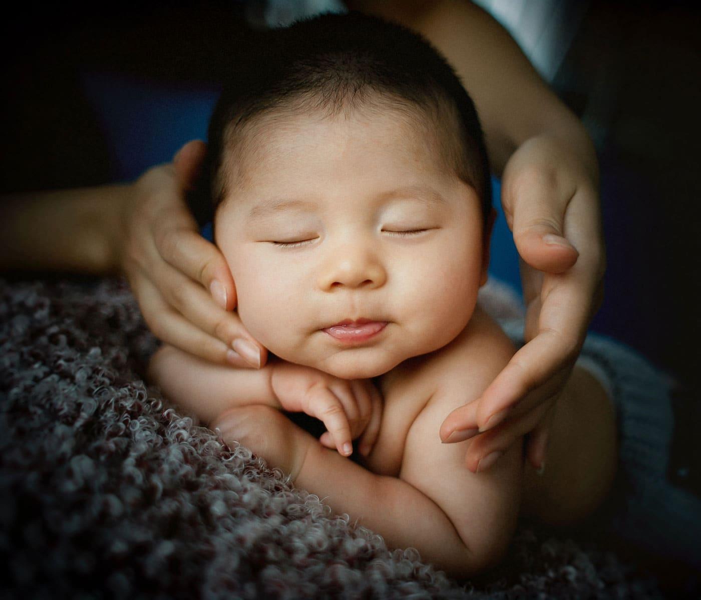 Zufriedenes Baby // HIMBEER