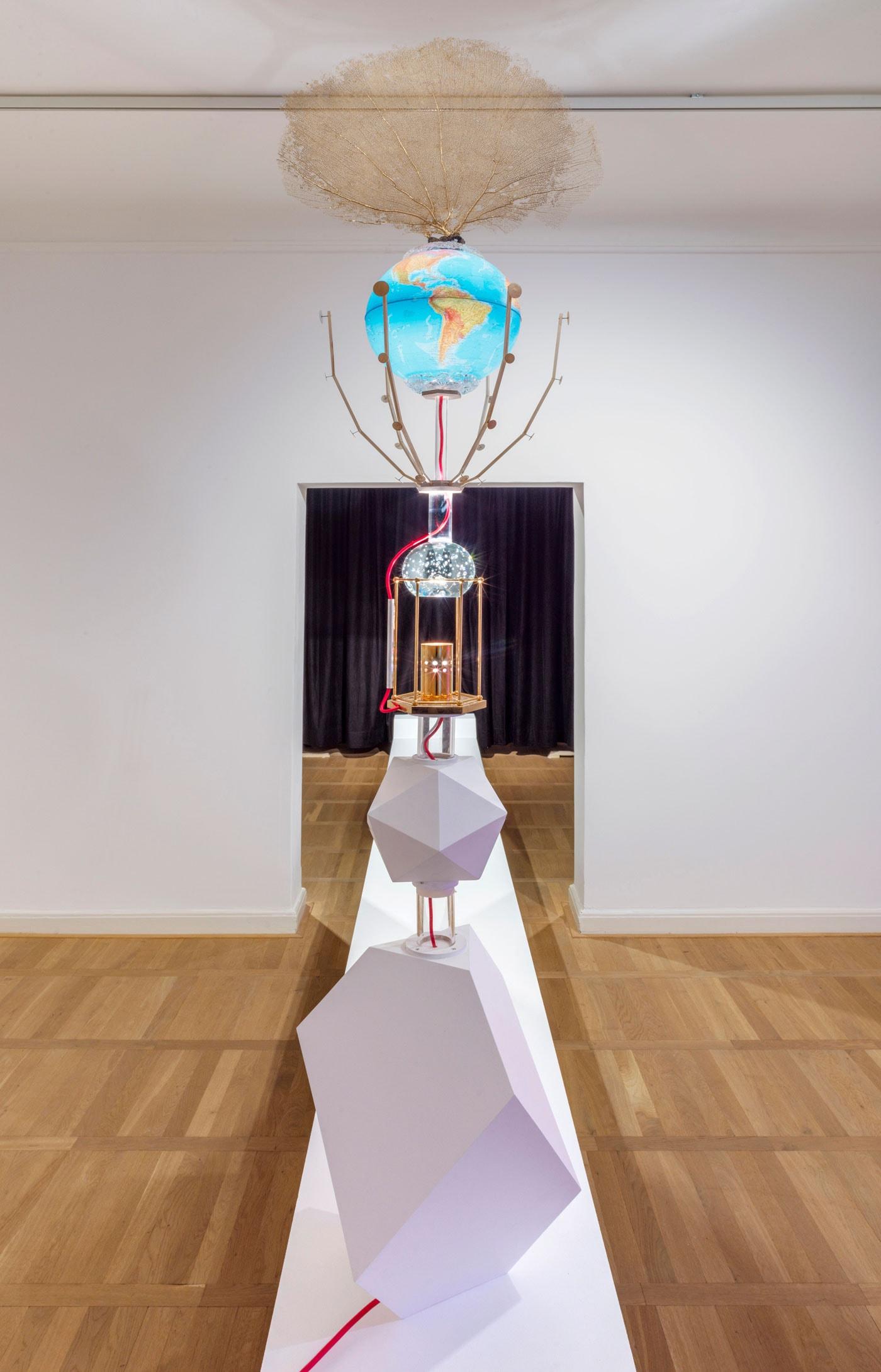 Ausstellung im Haus am Waldsee in Berlin: Into Space – Ausstellung bis 06.06.2021 // HIMBEER