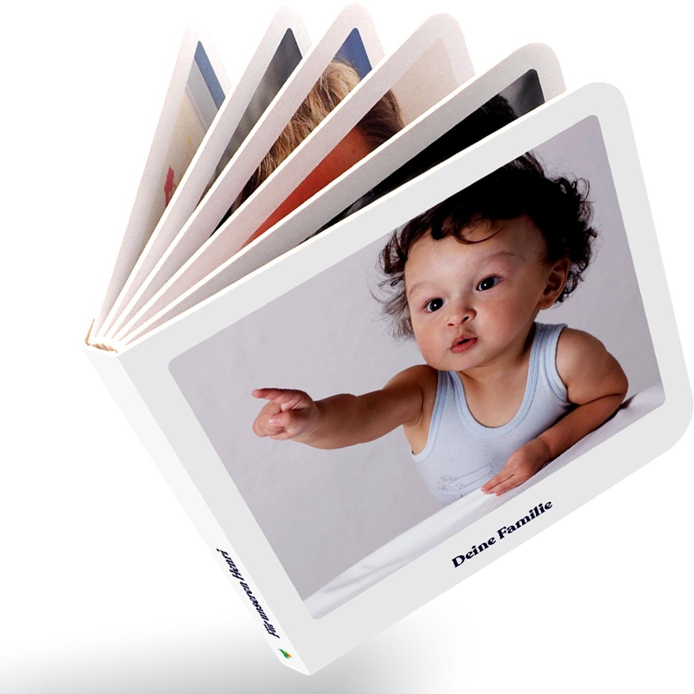 Personalisierte Pappbilderbücher von Pappzarapp // HIMBEER