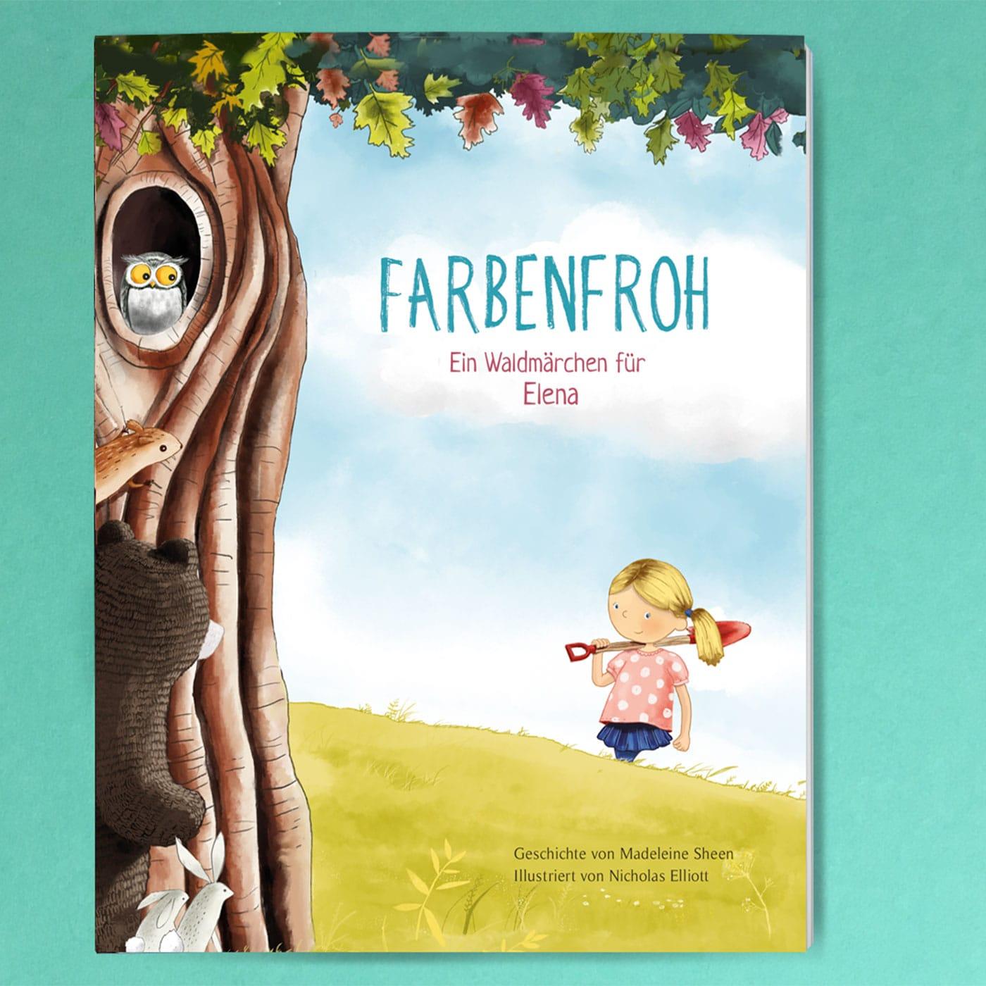 Kinderbuch individualisieren: Farbenfroh // HIMBEER