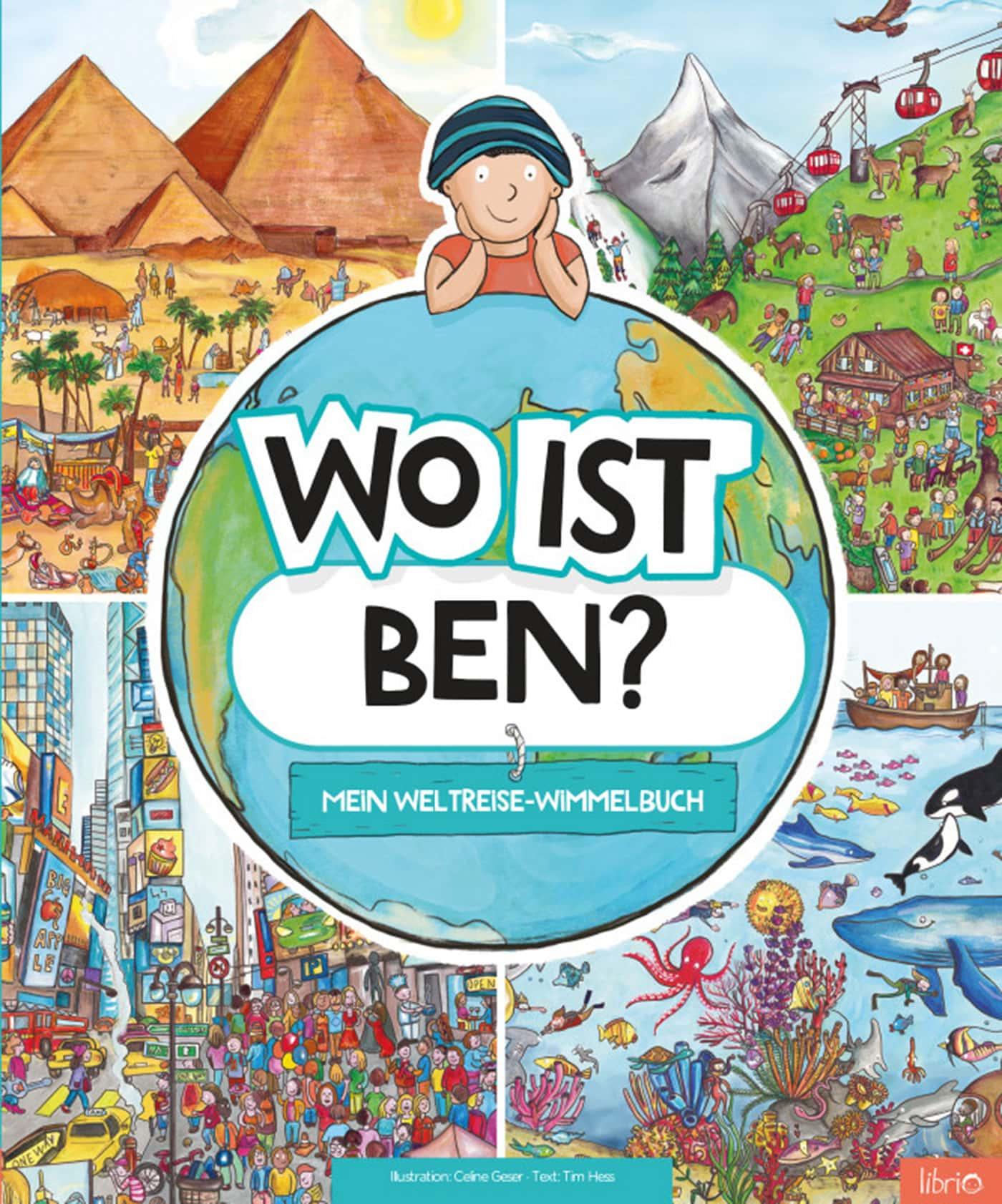 "Kinderbuch individualisieren: Wimmelbuch ""Wo ist ...?"" // HIMBEER"