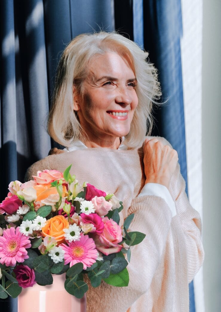 Gewinnspiel: Blumensträuße von Fleurop zum Muttertag // HIMBEER