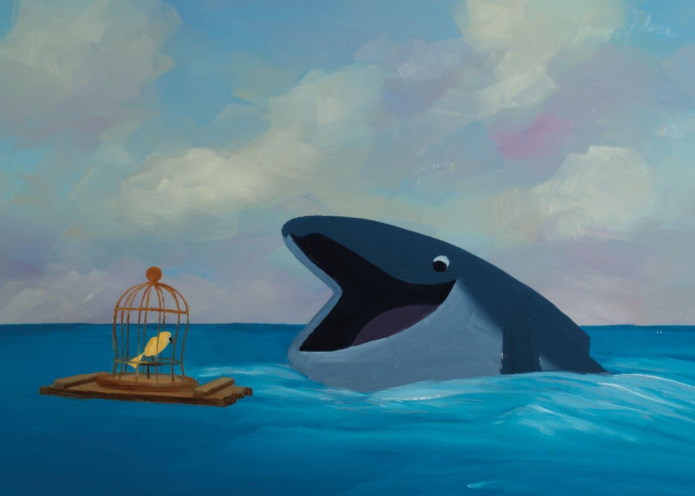 Kinder-Kurzfilme: Der Vogel und der Wal // HIMBEER
