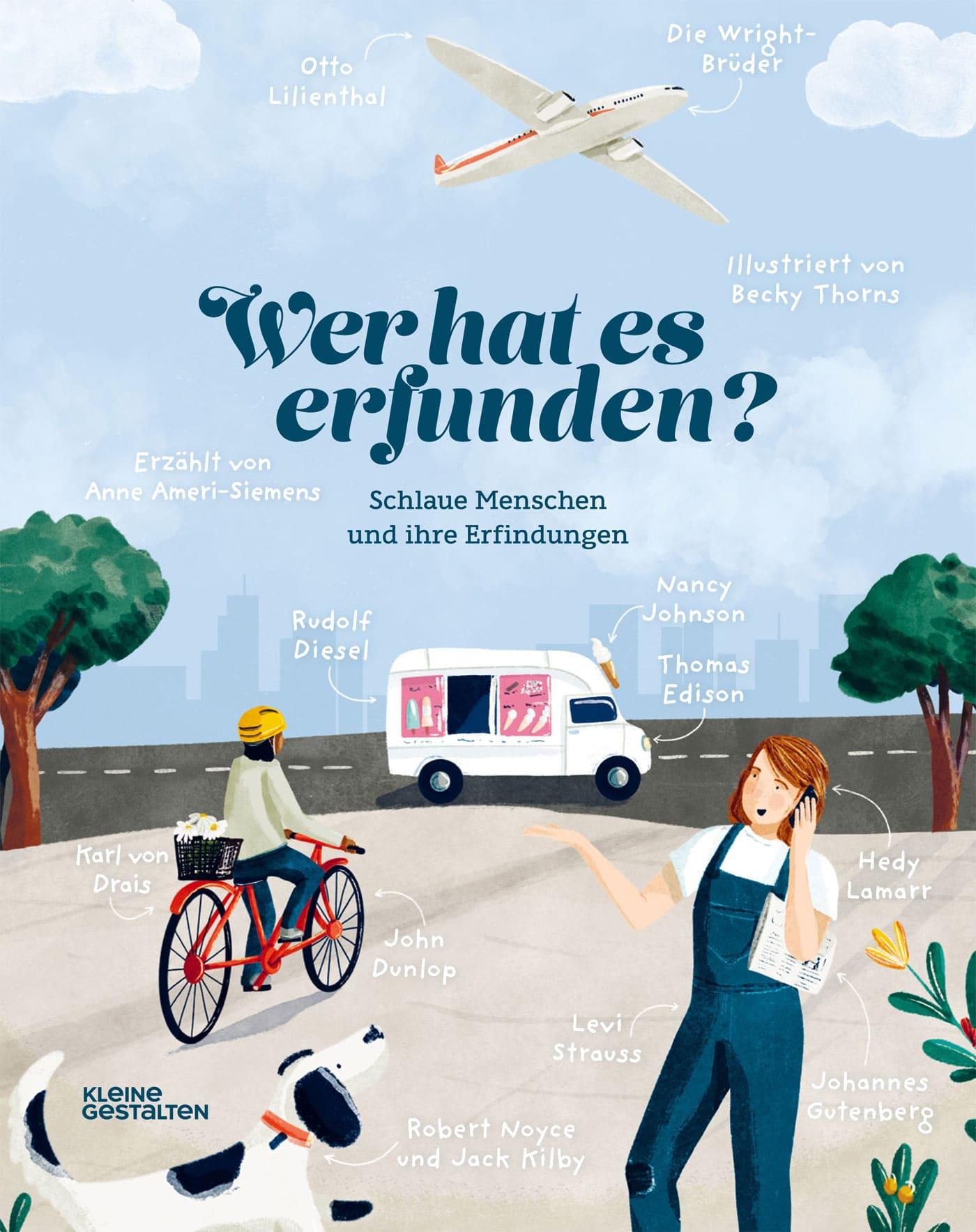 Kindersachbuch-Tipp: Wer hat es erfunden? // HIMBEER